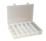 6 Compartment Small Plastic Box