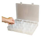 Adjustable Compartment Small Plastic Box