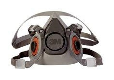 3M 6200 Reusable Half Face Respirator, Medium