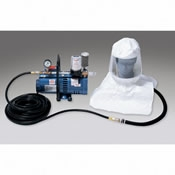 Allegro Low Pressure Supplied Air System with Tyvek Hood