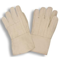 Cordova Hot Mill Gloves, Burlap Lined, Heavy Weight Large, 2525