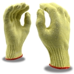 Kevlar and Cotton Plaited Cut Resistant Gloves, 7 Gauge
