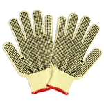 Cordova Aramid Plaited Gloves, PVC Dots, 3066