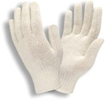 Food Contact Glove, Standard Weight String Knit, Large
