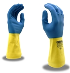 Cordova Premium Neoprene on Latex Gloves, 28 Mil, 12 Inch Length