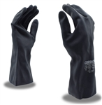 Cordova Premium Black 100% Neoprene Gloves, 18 Mil, 30 cm Length