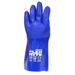 Cordova Flex Rite Blue PVC Oil Resistant Gloves