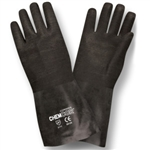 Cordova Chem-Cor Rough Black Neoprene Large Gloves 5812R