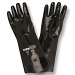 Cordova Chem-Cor Smooth Black Neoprene Large Gloves 5814