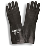 Cordova Chem-Cor Rough Black Neoprene Large Gloves 5814R