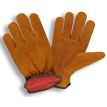 Cordova Split Cowhide Winter Driver's Gloves, Fleece Lined