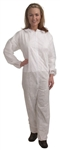 Cordova Standard Weight White Polypropylene Disposable Coveralls COHB55