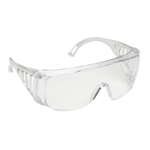 Cordova Slammer Uncoated Safety Glasses, Clear Lens EC10S
