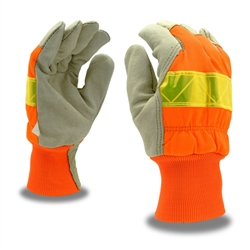 Cordova Hi-Vis Leather Palm Winter Gloves