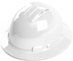 Cordova Vented Full Brim Style Hard Hat, 4 Pt. Ratchet
