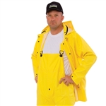 Cordova 2-Piece Rain Jacket, 0.35 mm PVC/Polyester
