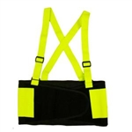 Cordova Back Support Belt, Hi-Vis Lime