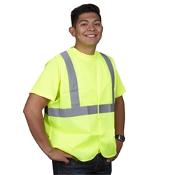 Cordova Class 2 Safety Vest,  Lime, Mesh, V211P