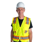 Cordova Cor Brite Class 2 Surveyor's Vest, Lime