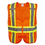 Cordova Class 2 Expandable Safety Vest, Orange