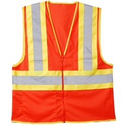 Cordova Class 2 Mesh Safety Vest, Orange or Lime