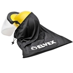 Elvex Microfiber Drawstring Bag for Cap with Shield