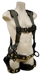 FrenchCreek 3-D Ring Construction Harness, TB Leg Straps 22850B