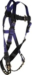 FallTech Contractor Full Body Harness 1 D-Ring, 7016 Series