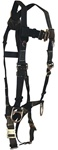 FallTech 7039 WeldTech Series Full Body Harness w/ Nomex Webbing, QC Leg Straps, 3 D-Rings