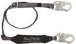 FallTech 8257 Viewpack Adjustable 4.5' to 6' Shock Absorbing Lanyard (SAL)