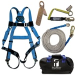 FallTech 8595RA Contractor+ Roofer's Kit with Storage Bag