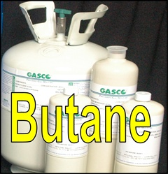 Gasco Butane Calibration Gas Mixture