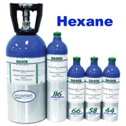 Gasco Hexane Calibration Gas Mixture, EcoSmart