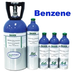 Gasco Benzene Calibration Gas Mixture, EcoSmart