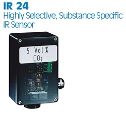GfG IR 24 Series Carbon Dioxide Fixed System Transmitter/Sensor Assembly