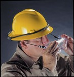 MSA Goggle Retainer, Full Brim Style Hard Hats