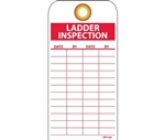 Ladder Inspection Tags with Grommets