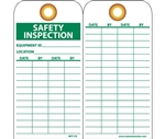 Safety Inspection Tags with Grommets