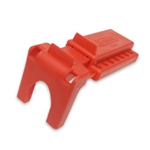 "North Ball Valve Lockout, B-Safe, 1-1/2"" to 2-1/2"",Red"