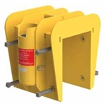 "Clamping Portable Wall Mount Sleeve, 3"" to 8"""