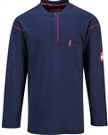 Portwest BizFlame Flame Resistant Long Sleeve Crew Shirt
