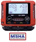RKI GX-2009 MSHA - Custom Build Gas Detector