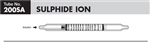 Sensidyne Sulfide Ion Gas Detection Tubes, 2 - 1000 ppm