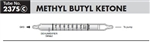 Sensidyne Methyl Butyl Ketone Gas Detection Tubes, 5 - 80 ppm