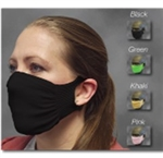 SafeWaze Protective Face Mask, 10 PK, Reusable, Black