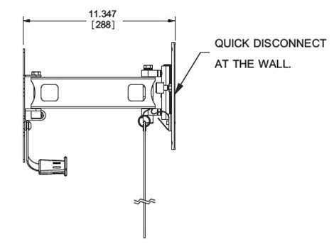 RV and Marine Detachable Articulating TV wall Mount 23