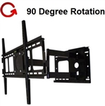 NEC E552 Articulating Wall Mount - ASM-501M