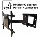 Rotating TV bracket Vizio E55-C1 - All Star Mounts ASM-504M-Rotate