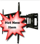 31in extension dual arm articulating TV wall mount