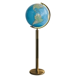 The Bamburg Floor Globe